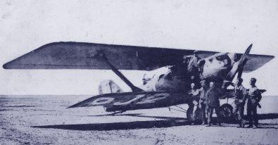 Terrains d'aviation et routes du ciel en 1930 Sissonne1